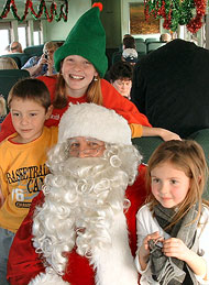 Lunch with Santa on the Train